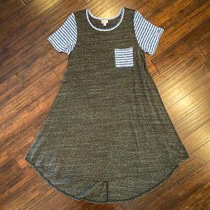 LuLaRoe Carly Dress - Size MEDIUM